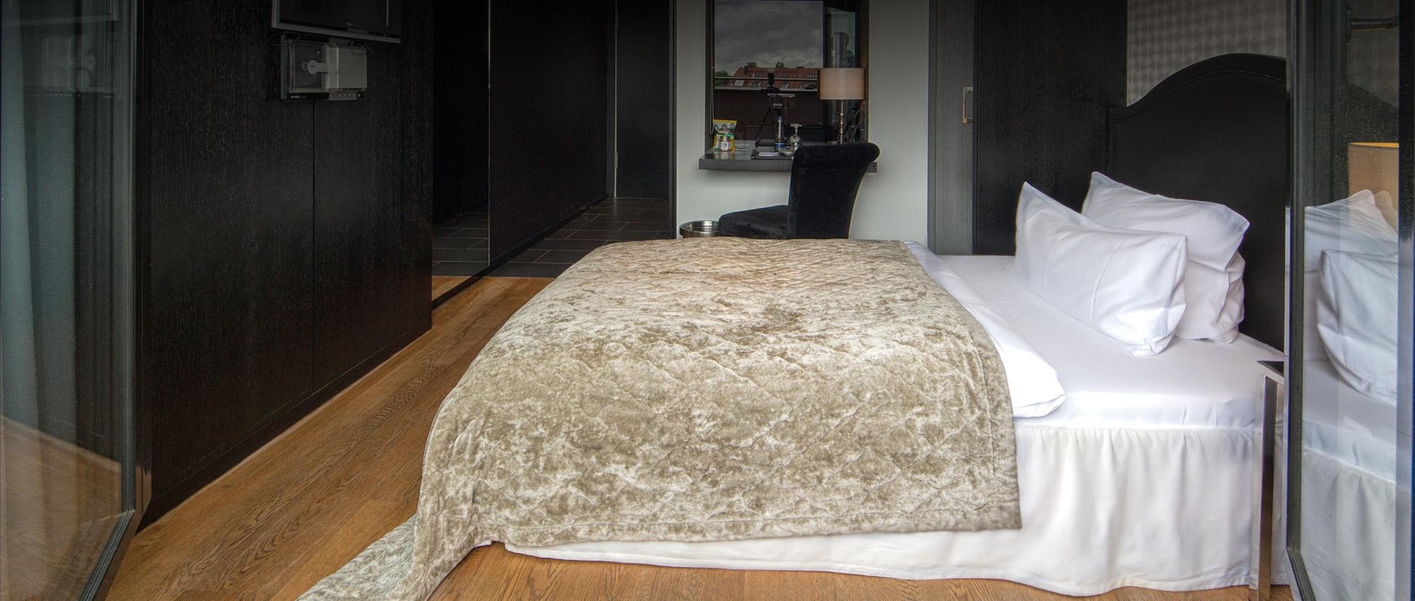 Die Zimmer im Hotel la maison München